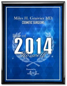 Miles H. Graivier, MD Receives 2014 Best of Roswell Award